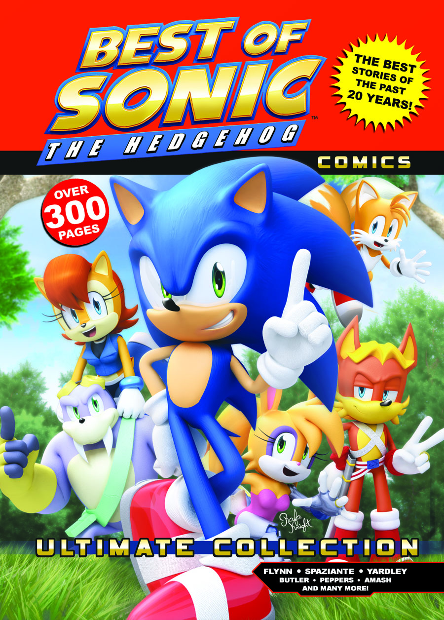 Best Of The Best 3 No Turning Back 1995: Best Of Sonic The Hedgehog Comics: Ultimate Edition