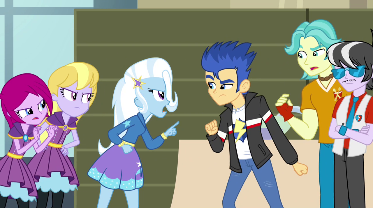 Flash sentry arguing eg2 png my little pony friendship is magic wiki