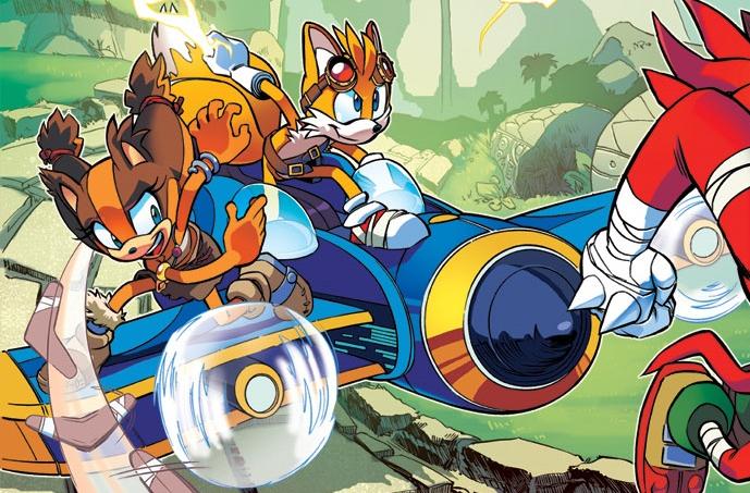 Tornado Sonic Bomb Tornado Sonic Boom Comic