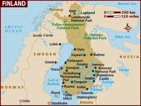 Finland Travel Maps | Metro Map | Bus Routes | Metrobus Way Map ... Finland Travel Maps