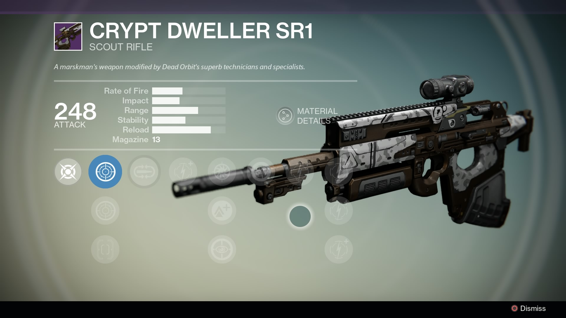 Crypt dweller sr1 destinypedia the destiny wiki destiny bungie