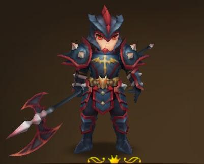 Fire Dragon Knight (Front) Summoners War Wind Dragon Runes