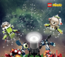 Mixels in SPAAAAACE!! Puzzle