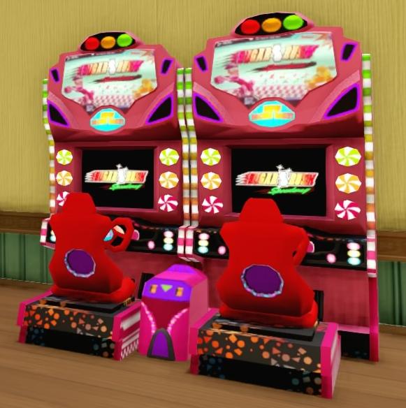 Sugar Rush Arcade Machine
