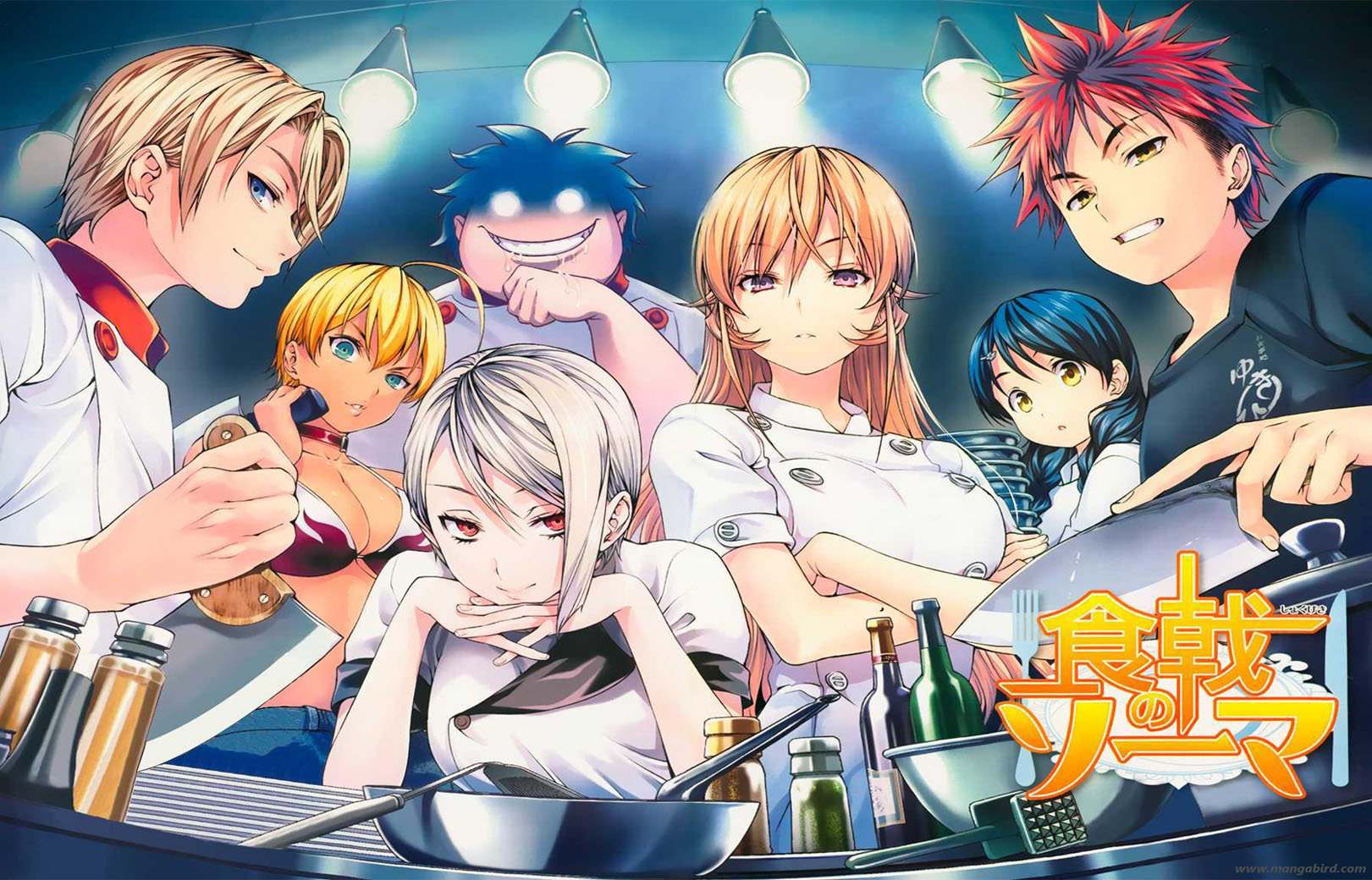 [MANGA/ANIME] Food Wars (Shokugeki no Sôma) Shokugeki_no_Soma_1