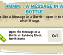 Hmmm... A Message in a Bottle