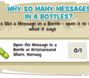Why So Many Messages in Bottles?