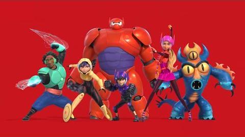 BIG HERO 6 Promo Clip - Characters (2014) Disney Animation Movie HD