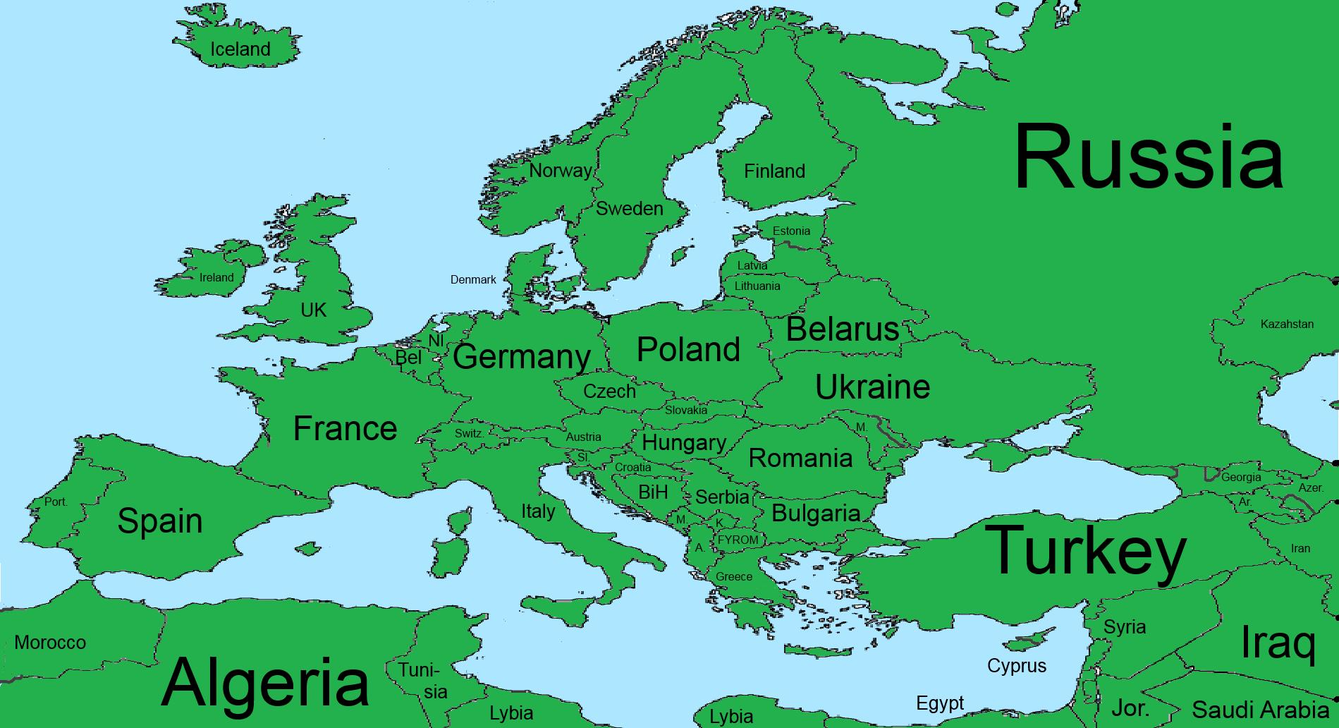 World War Ii Europe North Africa Map | Free Printable World Map