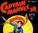 Captain Marvel, Jr./Covers