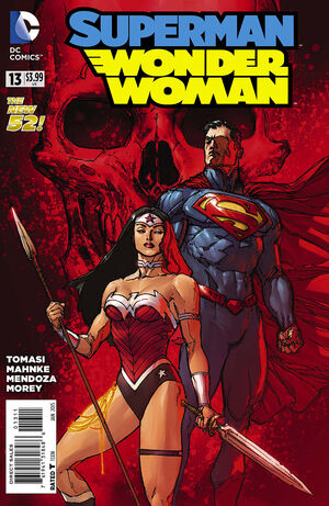 Cover for Superman/Wonder Woman #13 (2015)
