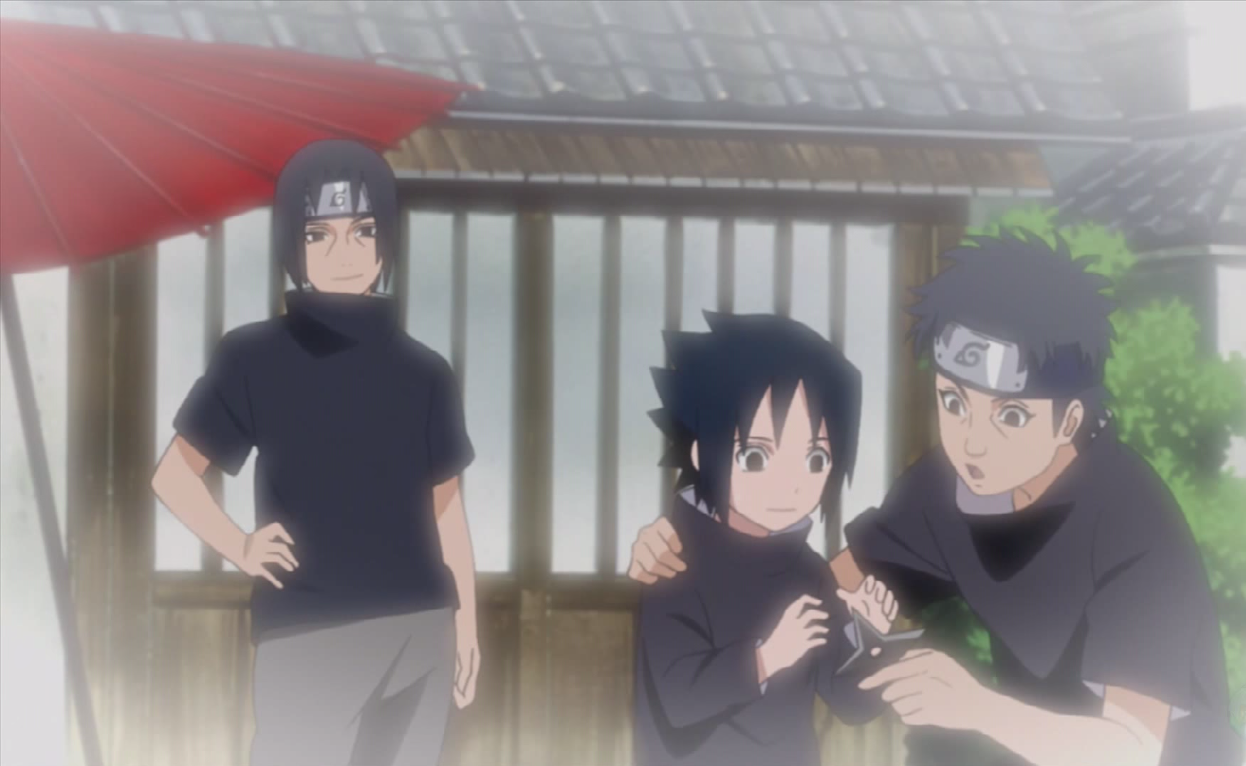 Size of this preview  640   215  393 pixels   Other resolutions  320    Shisui Uchiha And Itachi