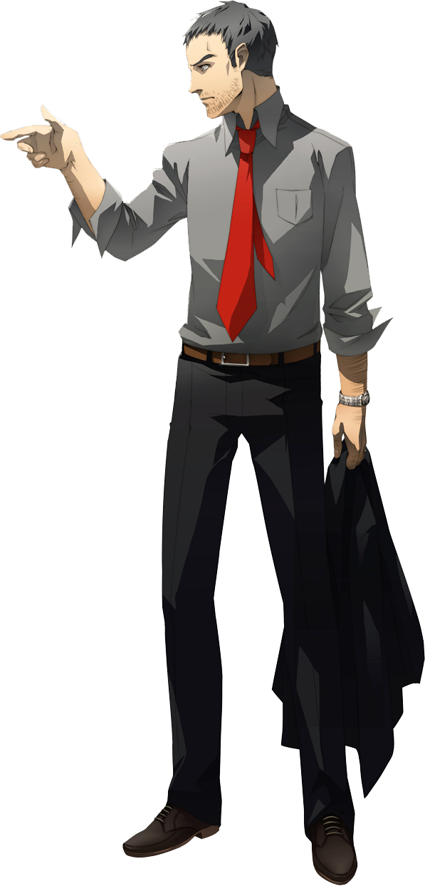 Persona 4 Anime Characters Database : Japanese fans name their favorite cool ojisan characters