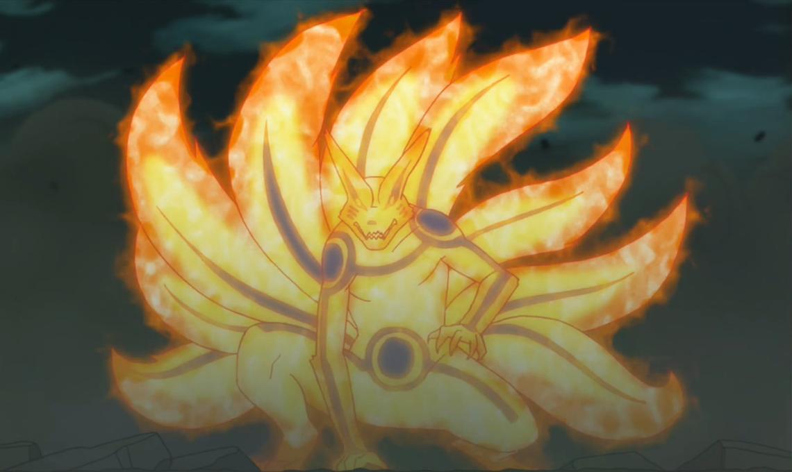 Jutsus - Bijuus Naruto_transformado_en_Kurama
