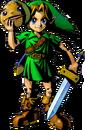 Link con la Máscara Goron artwork MM 3D.png