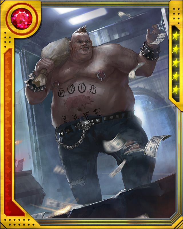 heavyweight blob marvel war of heroes wiki Quotes