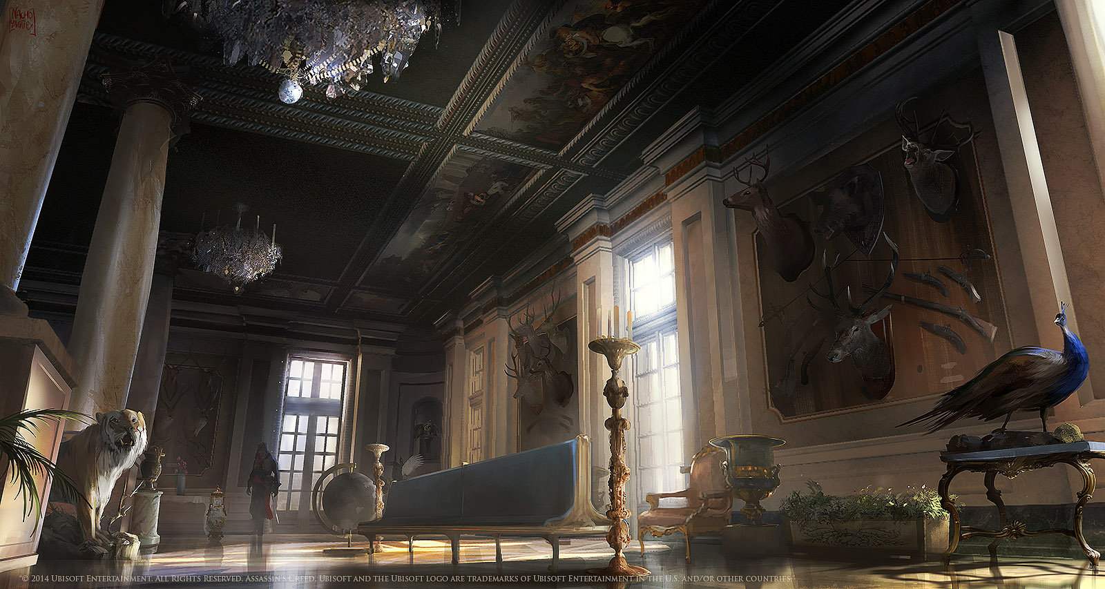 image acu luxembourg palace trophy room concept the