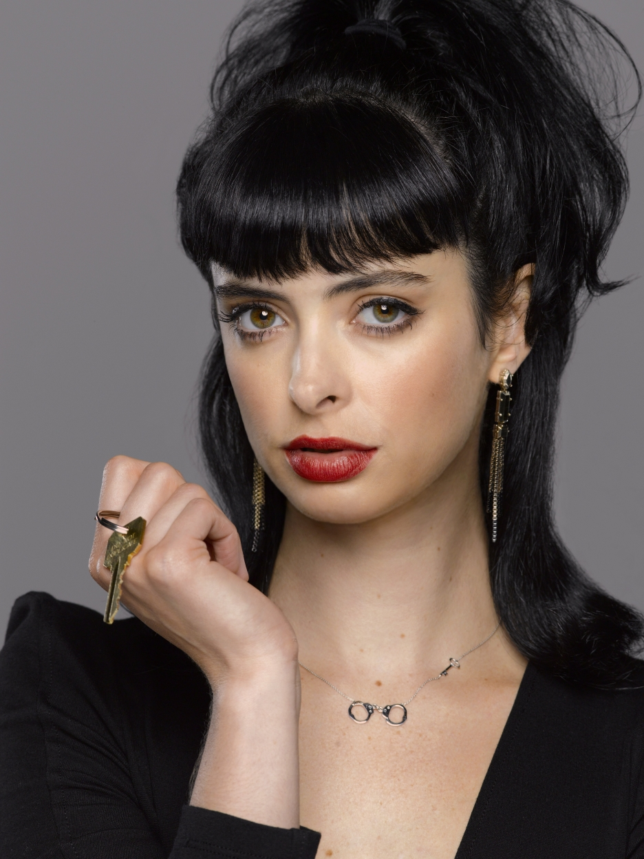 The 35-year old daughter of father Garry Ritter and mother Kathi Taylor, 175 cm tall Krysten Ritter in 2017 photo