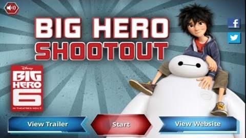 Disney Games Big Hero 6 - Big Hero Shootout