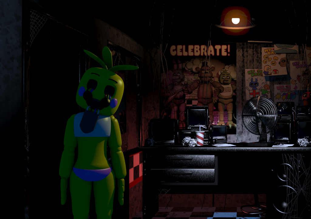 Welcome To The Rainbow Factory Gmod Poster 10 By: Five Nights At Freddy's