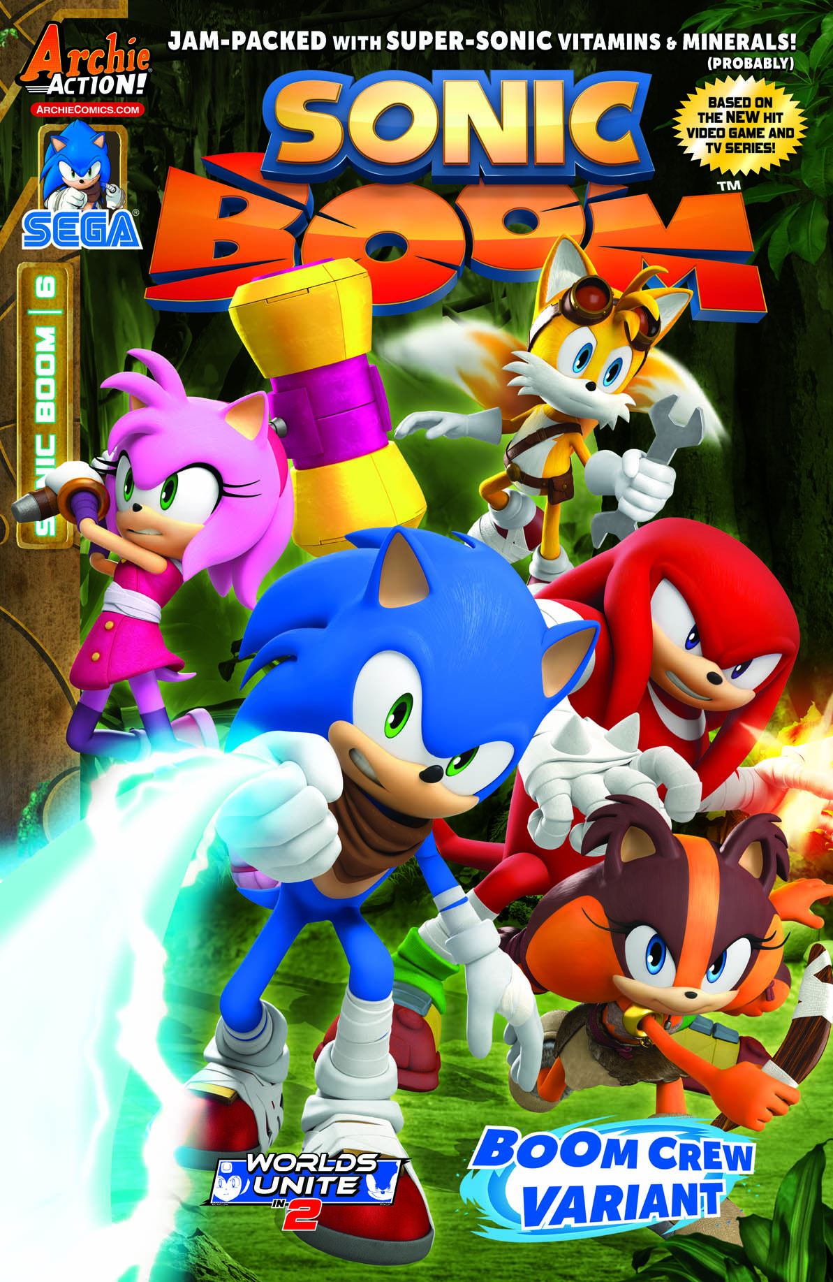 Archie Sonic Boom Issue 6 Sonic News Network the Sonic Wiki