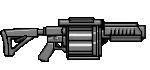 Armas/Weapons GrenadeLauncher-GTAVe-HUD