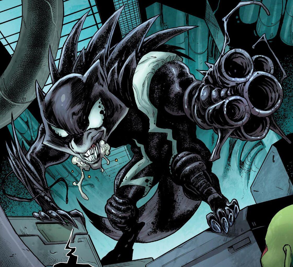 Symbiote Enhanced Cosu... Mangaverse Spider Man Wallpaper
