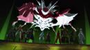 Sleeping Knights and Kirito's group defeating 28th floor boss.png