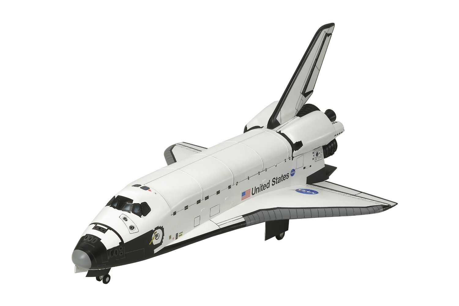 White Background Behind a Space Shuttle - Pics about space