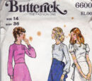 Butterick 6600 B