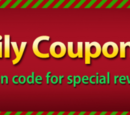 Christmas Daily Coupon Event!