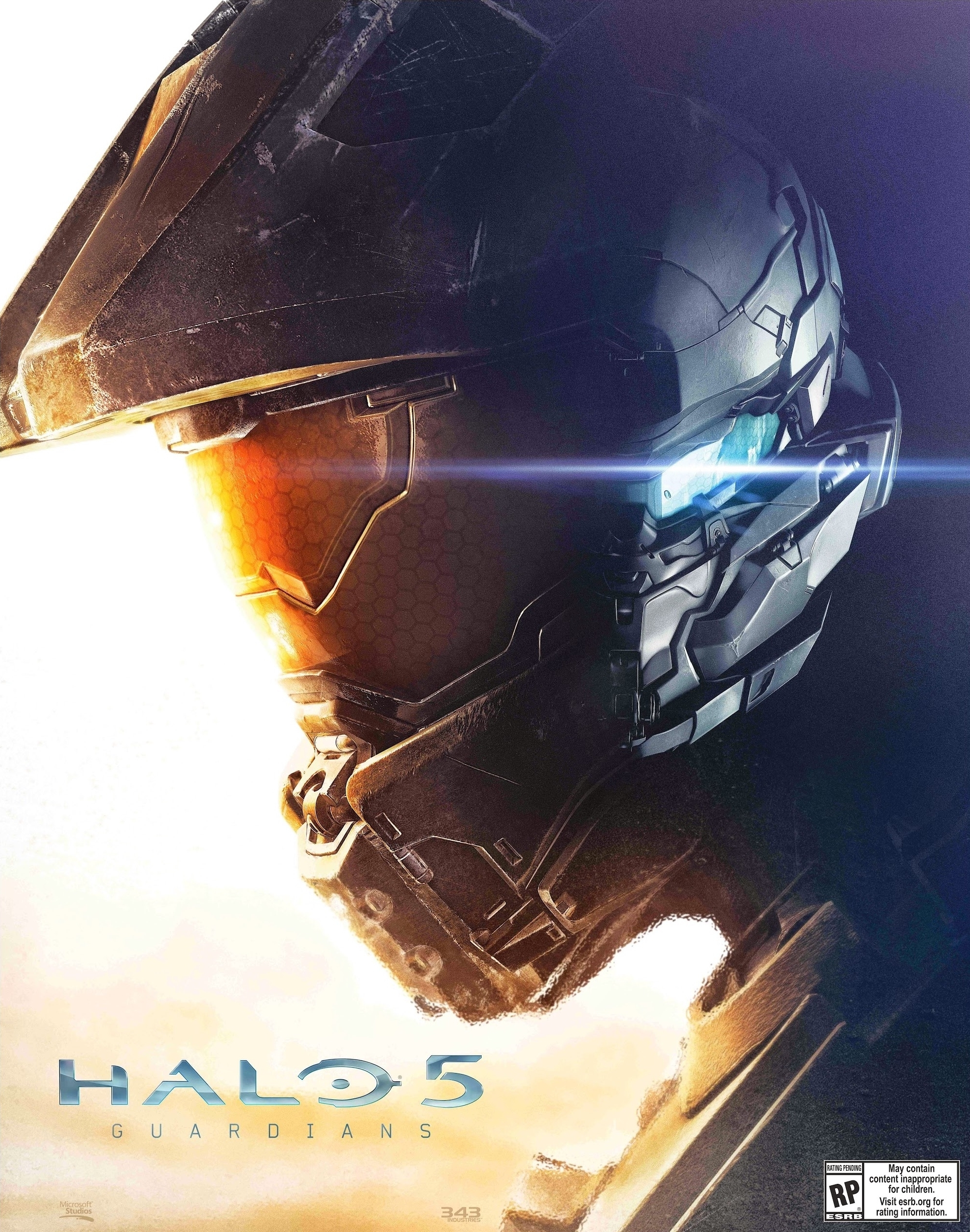 Halo 5 Official Cover The Cover Art For Halo 5