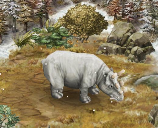 Uintatherium - Park Pedia - Jurassic Park, Dinosaurs ...