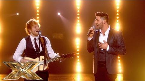Ben Haenow & Ed Sheeran duet 'Thinking Out Loud' The Final The X Factor UK 2014