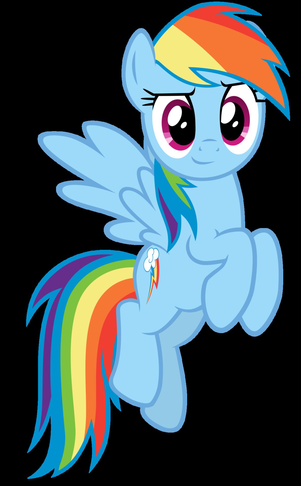 Image - FANMADE Rainbow Dash Rainbow Dash Mlp Vector