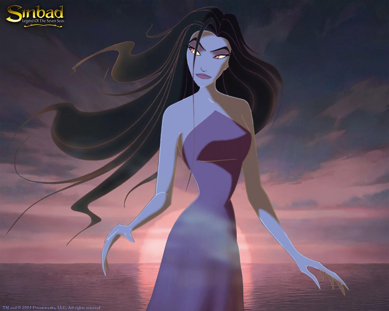Sinbad legend of the seven seas background wallpaper