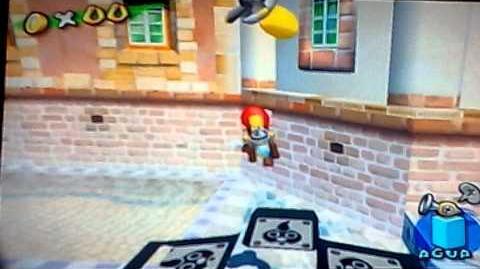 Glitch de la cámara (Super Mario Sunshine)