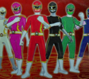Saban's Mighty Mythic Power Rangers