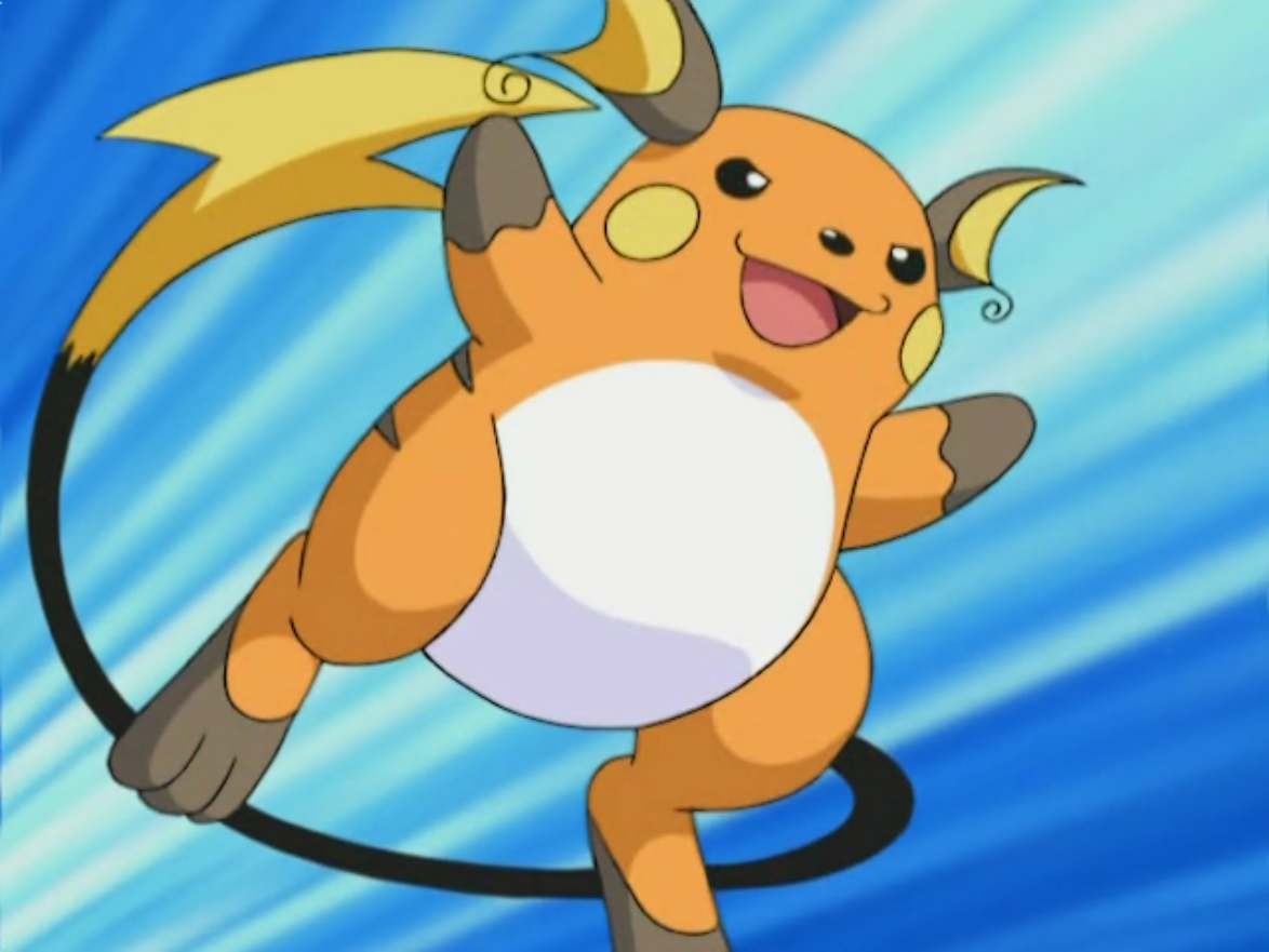 Sho's Raichu - The Pokémon Wiki