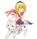 Kurow and Chibiterasu.png