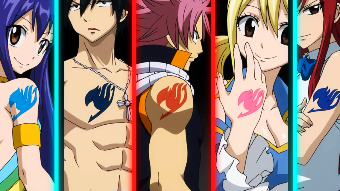 Image - Opening 18.png - Fairy Tail Wiki, the site for Hiro Mashima's ...