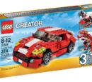 31024 Красный мощный автомобиль