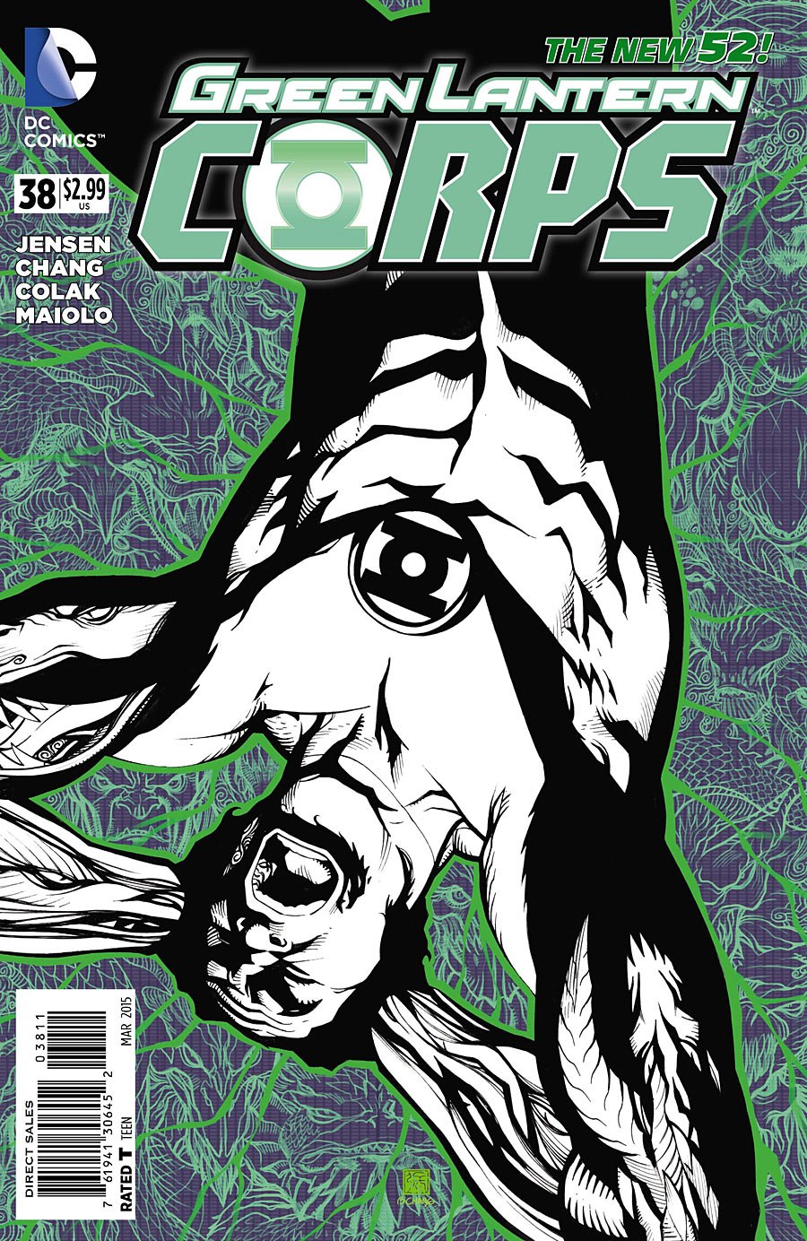 Green lantern corps comic cover - photo#21
