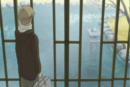 Natsume looking at the inside pond.png