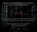 Uno zombie pericoloso