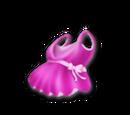 Fiolett kjole