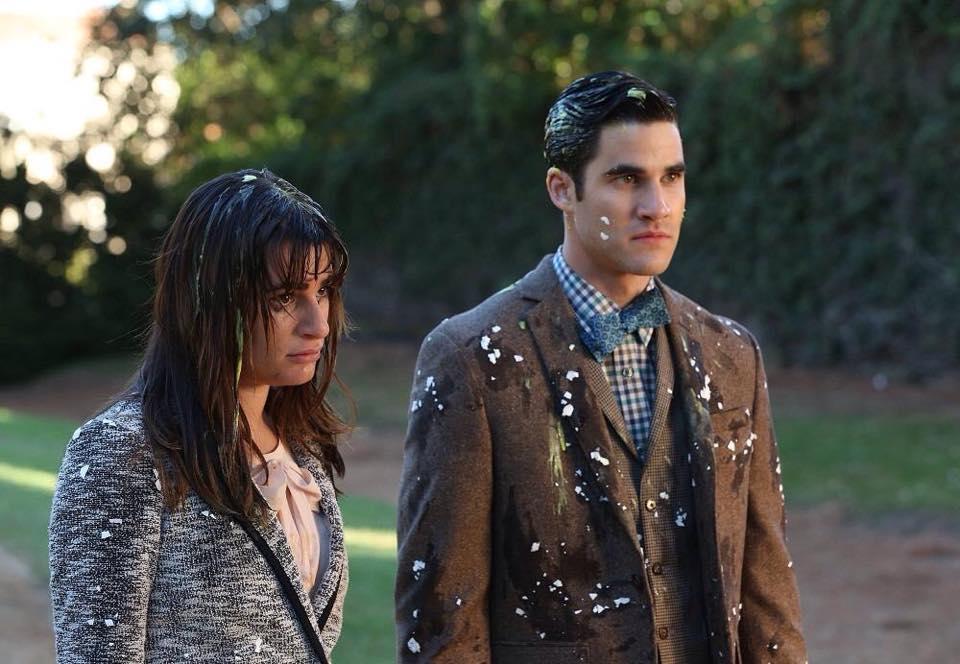 Blaine glee dating