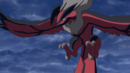 Yveltal Calmed Before Flying Away Peacefully.png