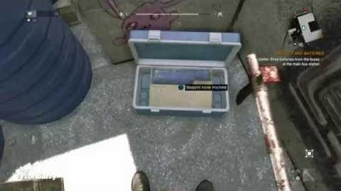 Dying Light - Korek Machete Blueprints Location (Best Weapon)