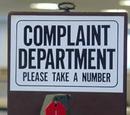 Agent Locke/Complaints Department